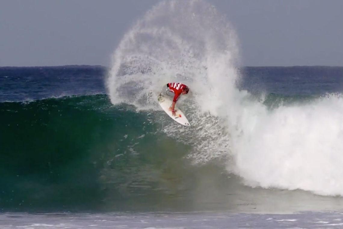 Vidéo de surf en Afrique du Sud