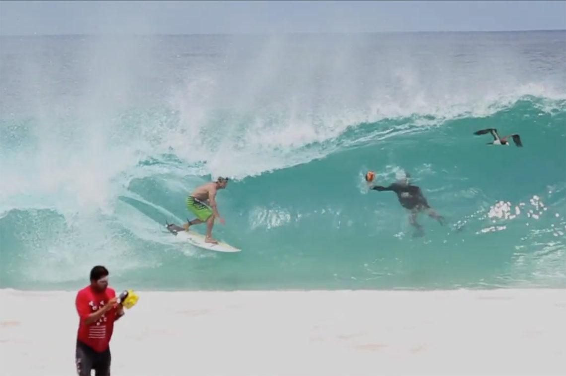 Vidéo de surf au Brésil sur l'ile de Fernando de Noronha