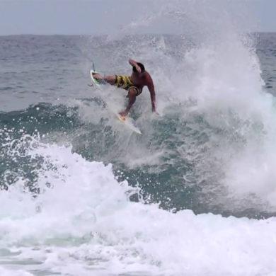Vidéo de surf dans les Caraibes