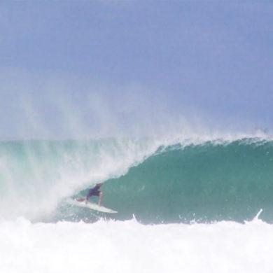 Vidéo de surf de Charly Martin surfeur pro français