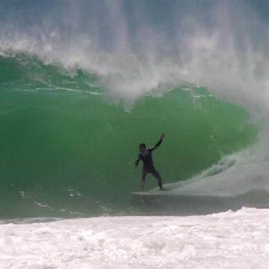 Vidéo de surf en France