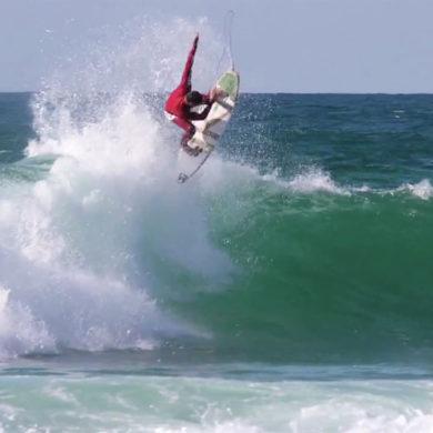 Vidéo de surf à Hossegor en France