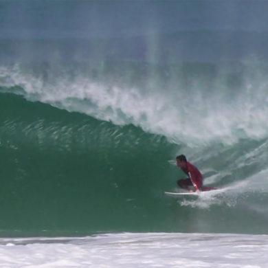 Video de surf à Hossegor dans le Sud Ouest de la France