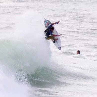 Vidéo de surf de Joan Duru surfeur pro français