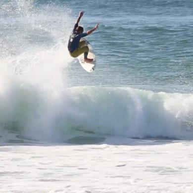 Vidéo de surf dans les Landes