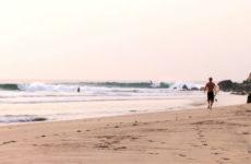 Vidéo de surf au Mexique