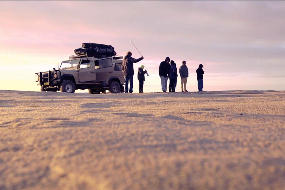 Vidéo de surf en Namibie