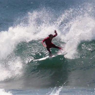 Vidéo de surf au Portugal avec Marc Lacomare